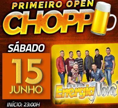 Sábado tem o 1ª Open Chopp Joaçaba