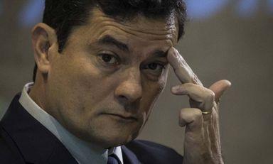 Ministro Sergio Moro teria tido o aplicativo Telegram hackeado Foto Guito Moreto / Agência O Globo