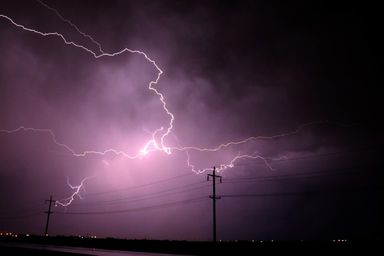 Alerta de chuva intensa e risco de temporais isolados para as próximas horas