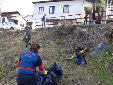 Programa de Controle da Dengue de Joaçaba realiza mutirão de limpeza no Centro e Bairro Tobias