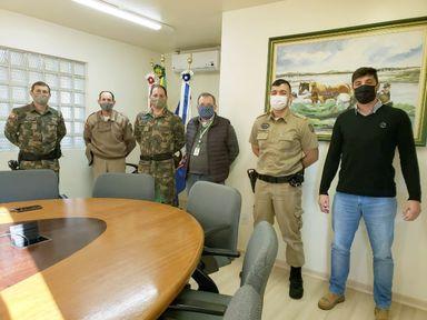 Copercampos firma convênio com PMSC para patrulhamento rural e conservação do meio ambiente