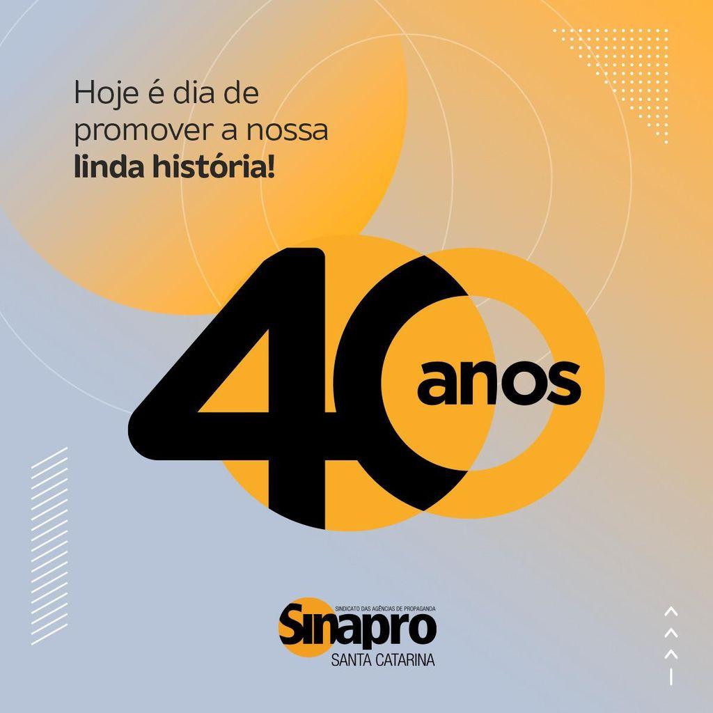 SINAPROSC completa 40 anos com lançamento de selo comemorativo