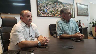 Prefeito Dioclésio reassume a Prefeitura de Joaçaba