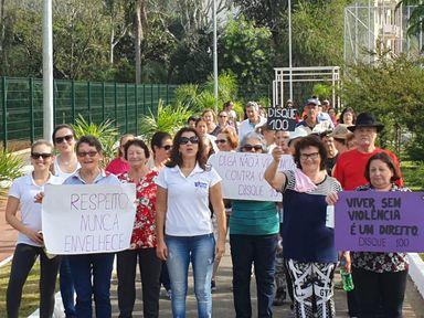 Secretaria de Assistência Social de Joaçaba realiza diversas atividades alusivas ao Junho Violeta