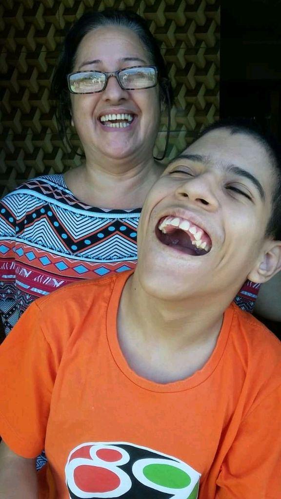 O sorriso dele é a maior prova que Deus existe e as dificuldades passam. Foto: Arquivo Pessoal