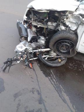 Motociclista morre em acidente na SC 135