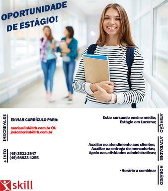 Estágio Ensino Médio- Luzerna/SC