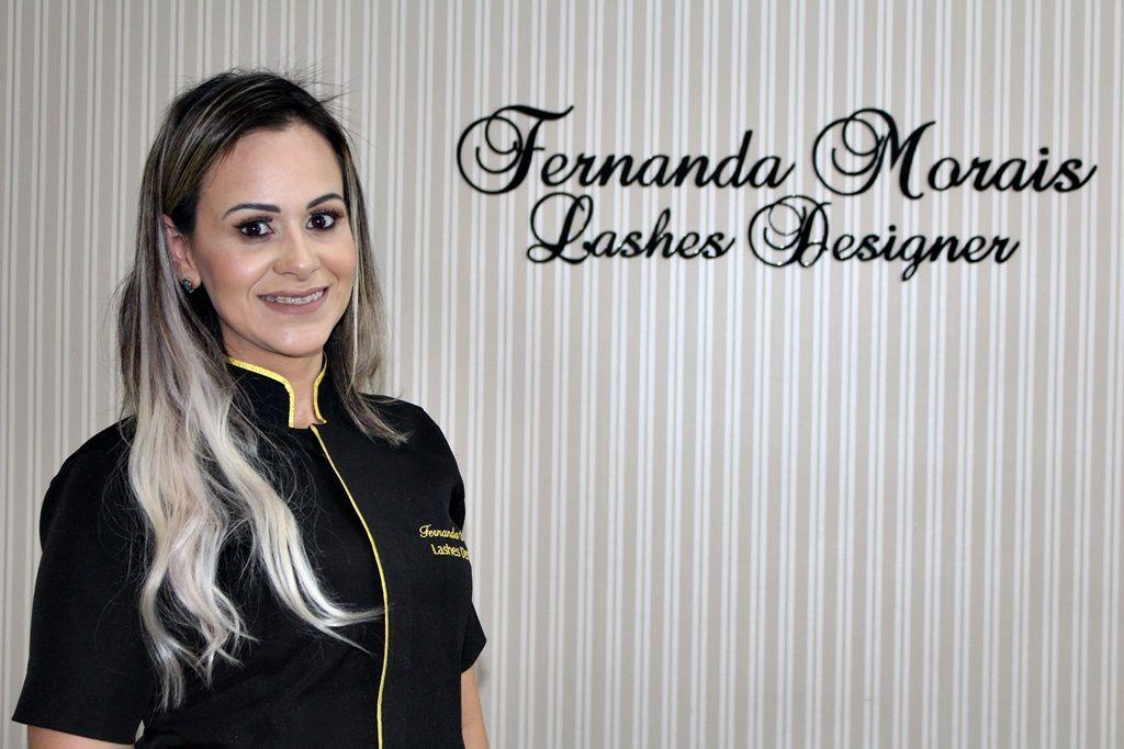 Treinadora e Lash Designer Fernanda Morais participará de concurso internacional de extensão de cílios em Minas Gerais.