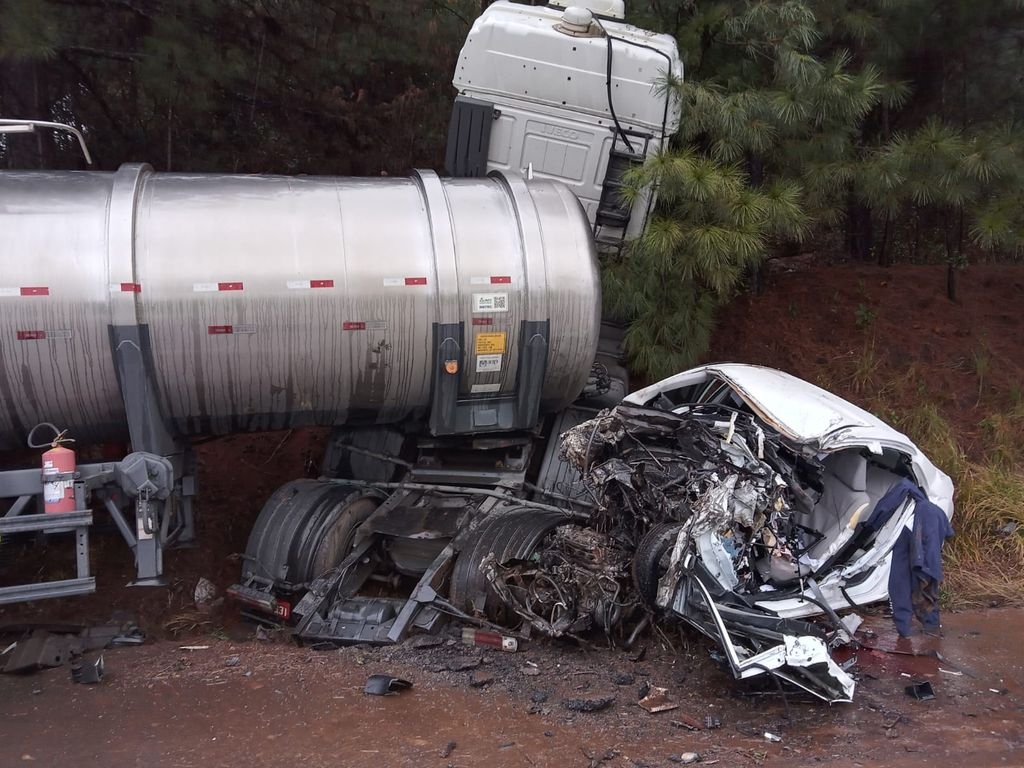 Homem fica gravemente ferido em acidente na BR 470