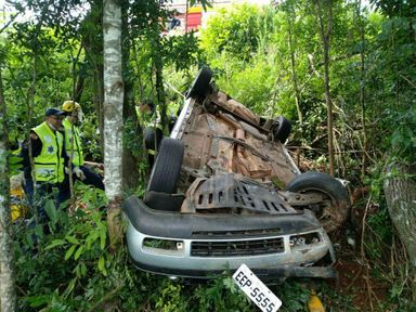 Sobrevivente do acidente que matou quatro pessoas na BR 282 recebe alta do hospital