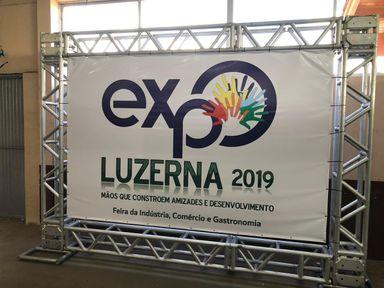 I Expo Luzerna aconteceu neste final de semana e atraiu visitantes de toda a região