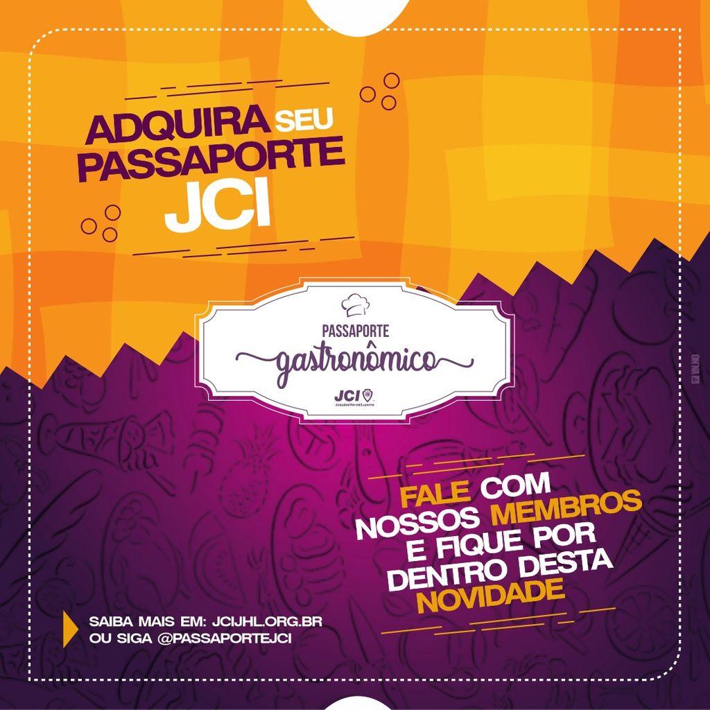 A JCI Joaçaba, Herval e Luzerna apresenta o *Passaporte Gastronômico JCI*