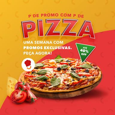 Não perca essa! Semana da pizza com descontos de até 40% para quem pedir pelo App Delivery Much!