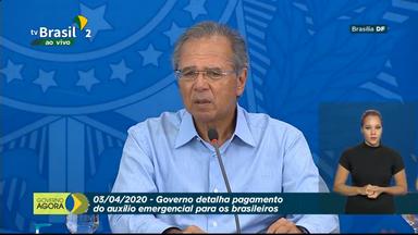 AO VIVO: governo detalha pagamento do auxílio emergencial de R$ 600