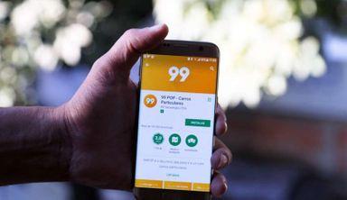 Aplicativo de transporte urbano 99 chega à Joaçaba