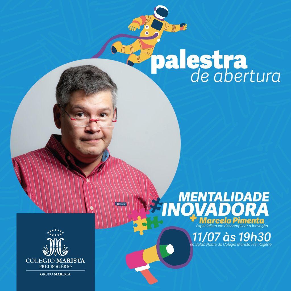 Mostra de Conhecimentos Marista 2019 traz Marcelo Pimenta à Joaçaba