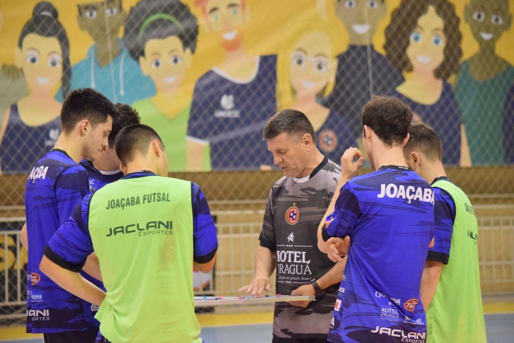 Joaçaba Futsal recebe o Jaraguá neste sábado pela Série Ouro