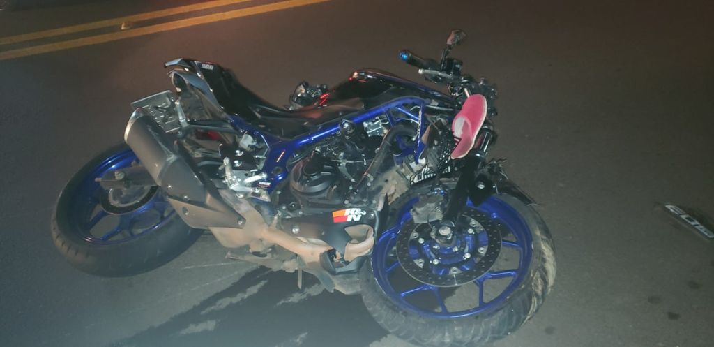 Motociclista morre em acidente na SC-135