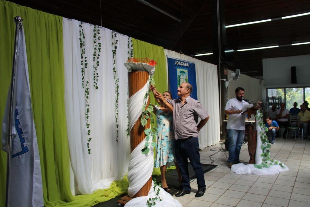 Realizada a abertura dos Jogos Municipais do Idoso de Joaçaba