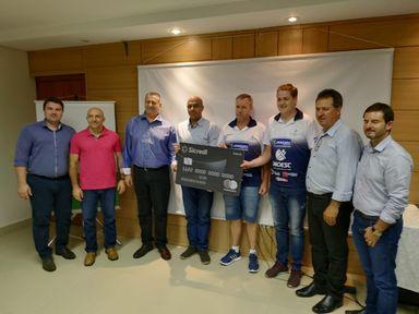 Sicredi UniEstados doa mais de R$ 50 mil para  entidades de Joaçaba, Herval d´Oeste e Luzerna