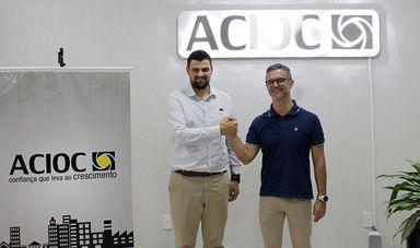 Angelo Junior Radavelli é eleito presidente executivo da ACIOC