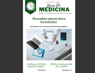 Acadêmicos da Unoesc produzem jornal para divulgar atividades do Curso de Medicina