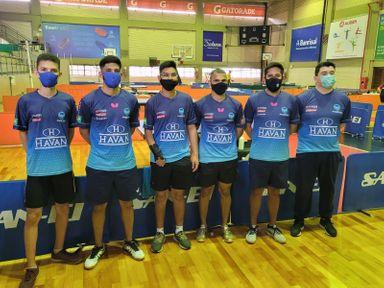 PHOENIX Joaçaba finaliza competição em Porto Alegre como a 3ª melhor equipe de tênis de mesa paraolímpica e Olímpica do evento