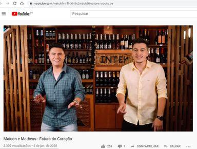 Dupla Joaçabense Maicon e Matheus lança nova música de trabalho