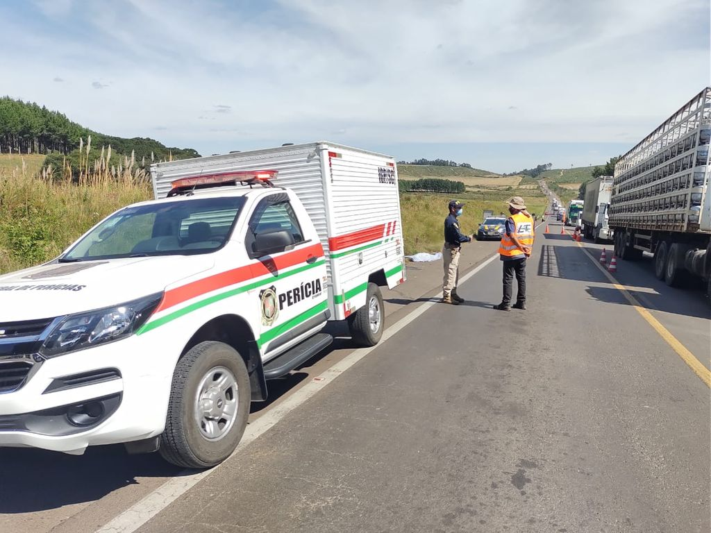 Acidente termina com a morte de motociclista na BR-153