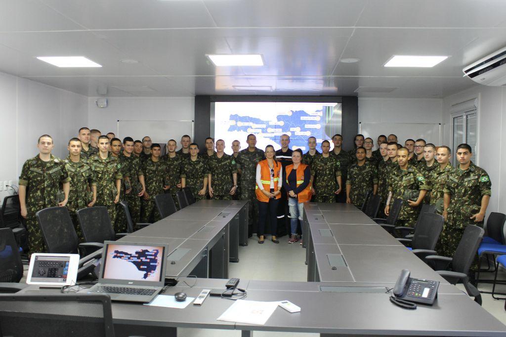 Atiradores são preparados para atuarem em apoio a Defesa Civil Municipal