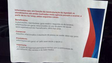 Agemed está de portas fechadas em Joaçaba