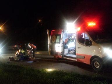 Três pessoas ficam feridas em acidente em Joaçaba