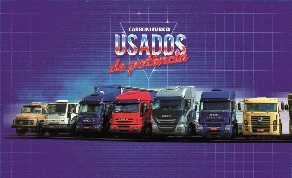 As taxas de juros para caminhões usados baixaram na Carboni