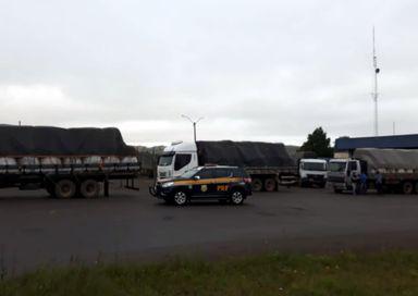 Fiscalização de peso flagra 16 toneladas de excesso na BR 153 em Água Doce