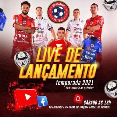 Joaçaba Futsal lança temporada 2021 em live neste sábado