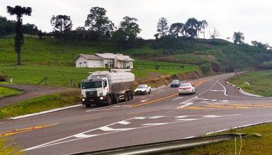 Deinfra libera trânsito no anel viário entre as rodovias SC-355 e SC-467 em Jaborá