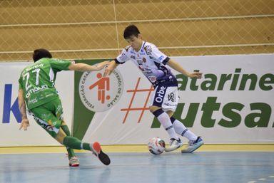 Joaçaba Futsal recebe o Blumenau nesta terça-feira pelo Catarinense