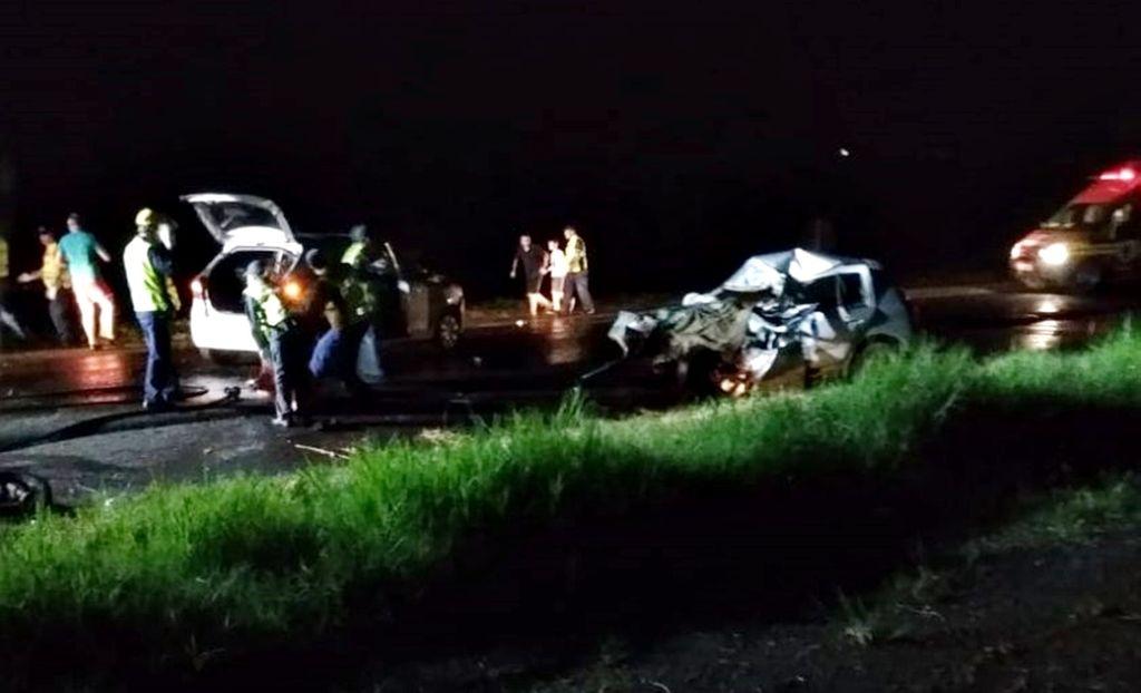 Mãe e filho de 8 meses morrem em acidente na BR-282 no Oeste