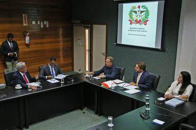 Reunião da Comissão de Assuntos Municipais. FOTO: Fábio Queiroz/Agência AL