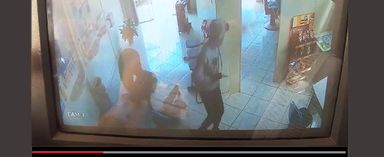 Vídeos mostram ação dos bandidos que assaltaram lotérica em Jaborá