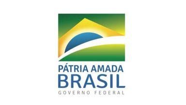 Nova marca do governo federal na gestão de Jair Bolsonaro. Imagem: Reprodução/Twitter Carlos Bolsonaro