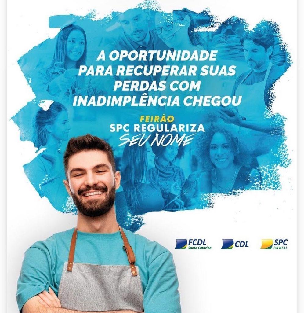 Feirão SPC Regulariza Seu Nome' ajudará na renegociação de dívidas no comércio de Joaçaba