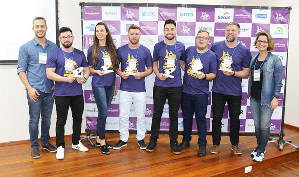 Equipe com representantes da Unoesc conquistou o 3º lugar