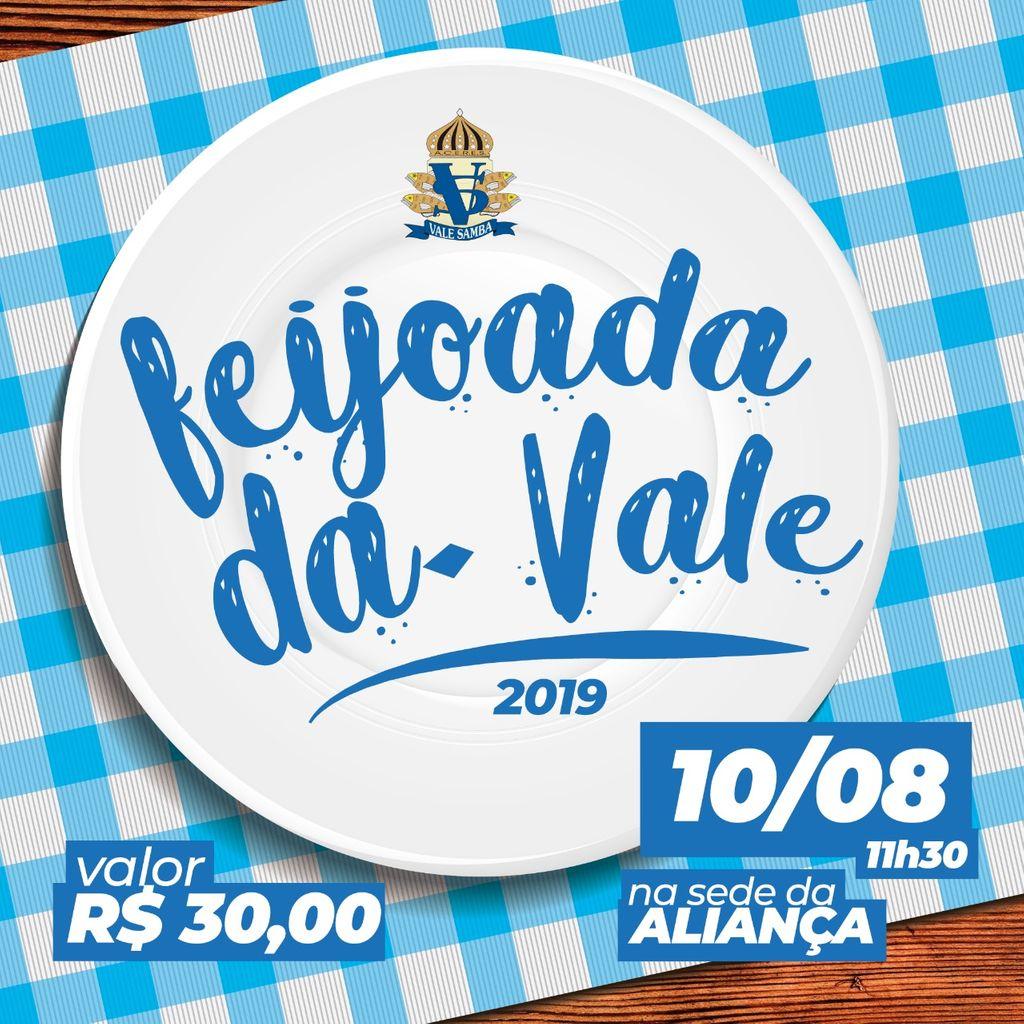 Feijoada da Vale Samba acontecerá no dia 10 de agosto