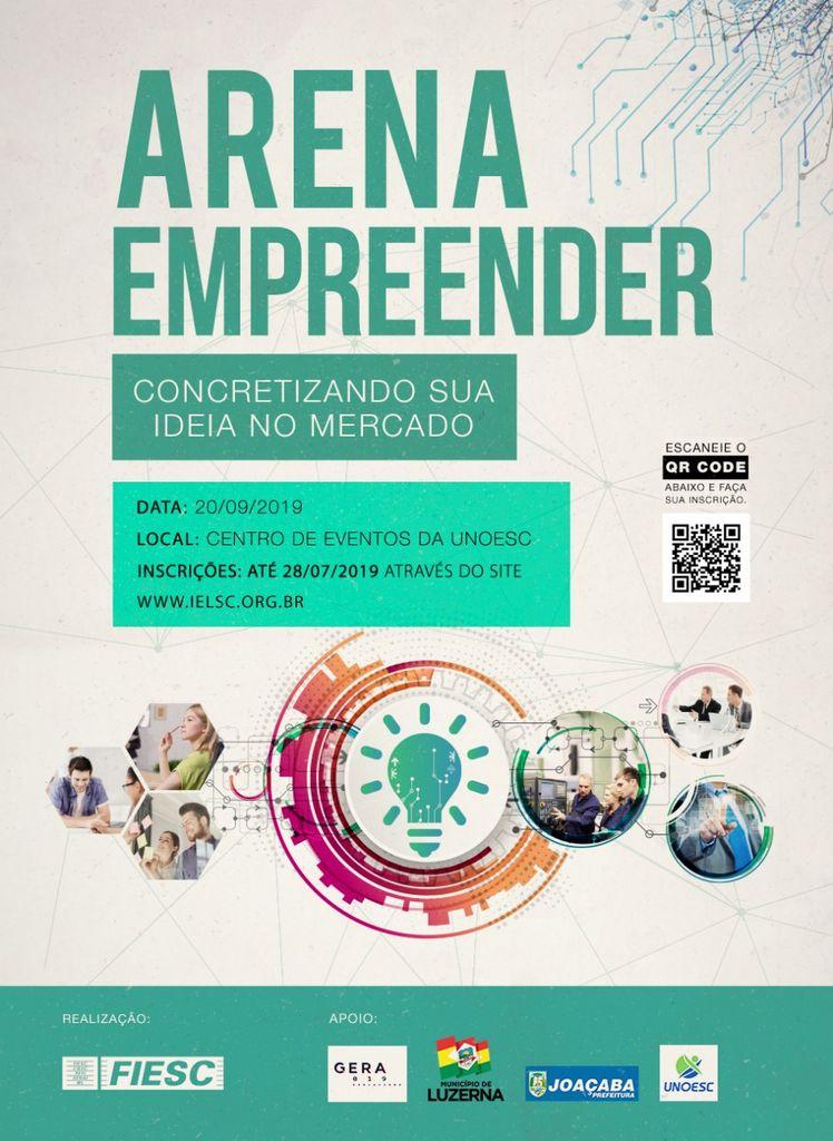 Arena Empreender apresenta projetos inovadores no mês de setembro