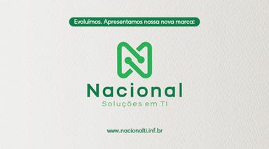 Nacional Informática apresenta a sua nova marca