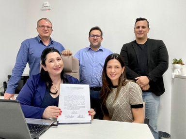 Janaina Barea oficializa candidatura à presidência da Subseção da OAB Joaçaba