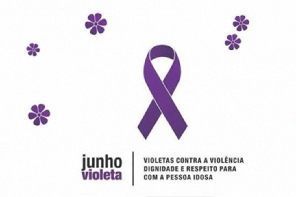 Junho Violeta conscientiza sobre a violência contra o idoso