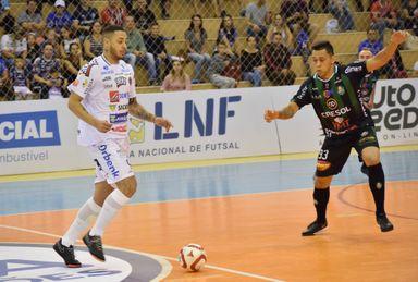 Joaçaba Futsal enfrenta o Foz Cataratas neste sábado pela segunda rodada da LNF