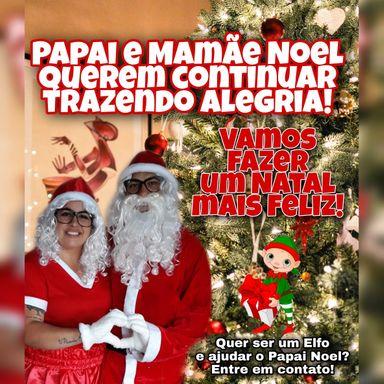 Casal de Joaçaba está arrecadando doces para distribuir às crianças neste Natal